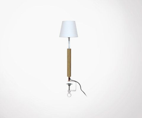 Lampe avec pince design ERNEST - Red Cartel