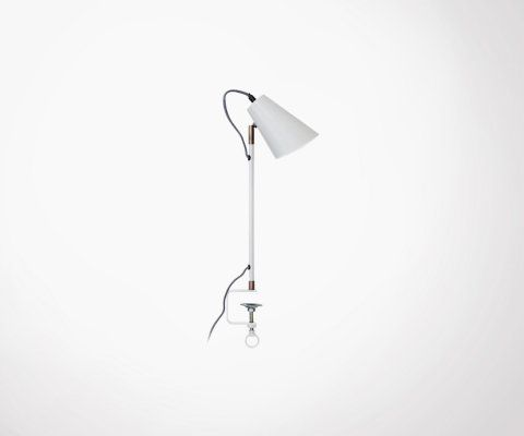 Lampe design avec pince MILLER - Red Cartel