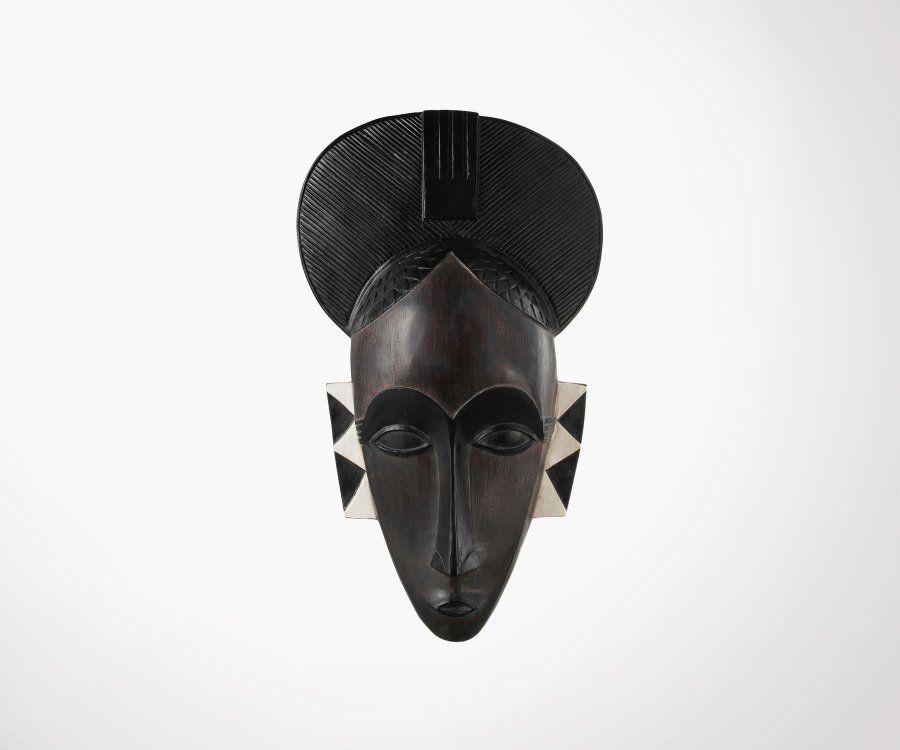 Masque africain femme en résine AFRIKA