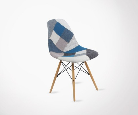 Chaise DSW Patchwork style Eames