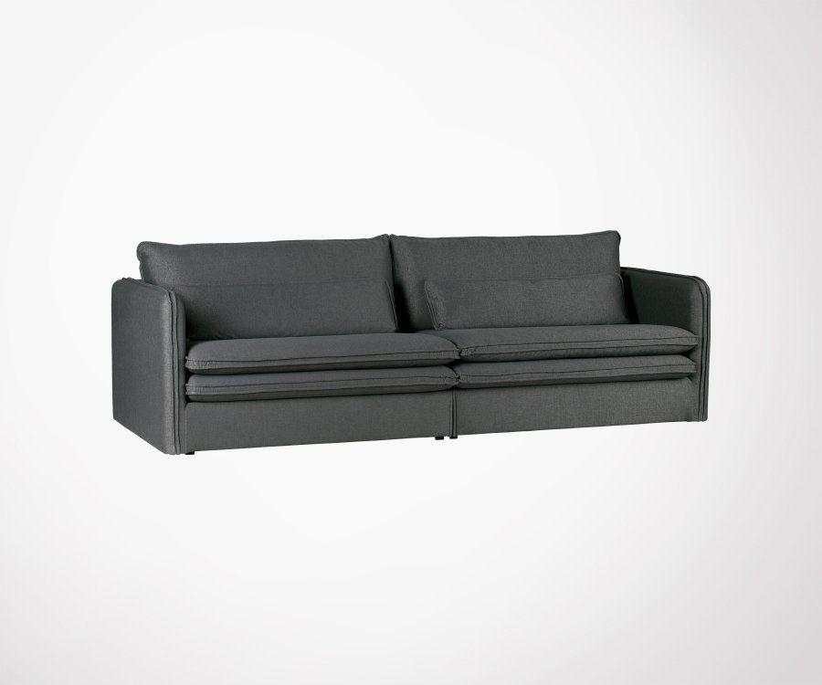 Canapé tissu 3 places PALOB - Woood