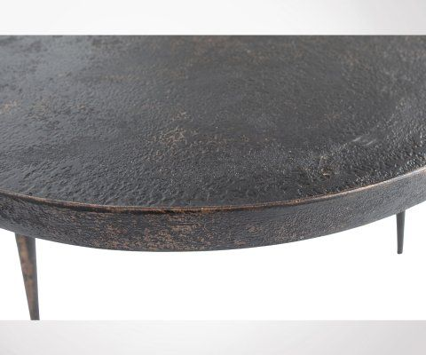 Table basse style antique 76cm BOUNDS - BePureHome