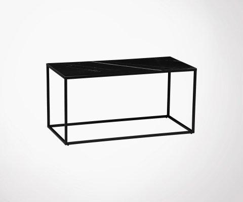 Console design 90cm plateau style marbre NESTOR - Vtwonen