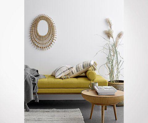 Méridienne tissu style moderne ORO - Bloomingville