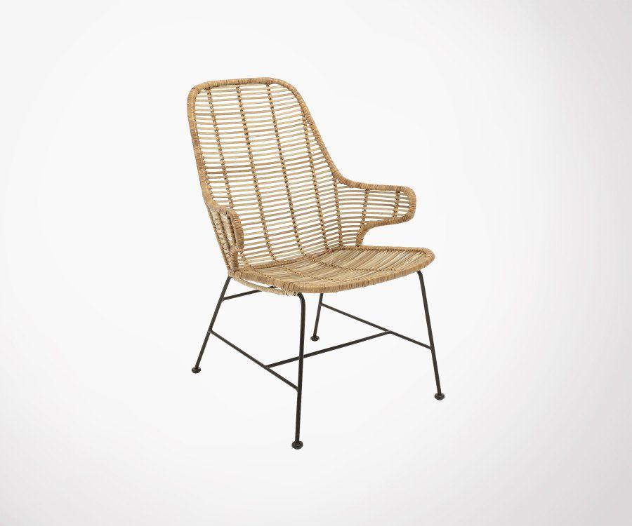 Chaise rotin outdoor LARRY - bloomingville