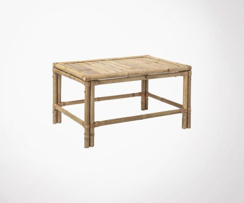 Table basse 90x60cm bambou LEE - Bloomingville