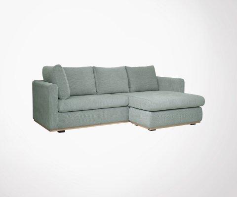 Canapé d'angle tissu 231x150cm LYRA - Bloomingville