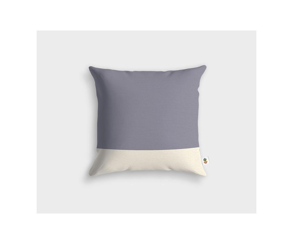 housse de coussin objet d co scandinave couleurs gris et blanc. Black Bedroom Furniture Sets. Home Design Ideas