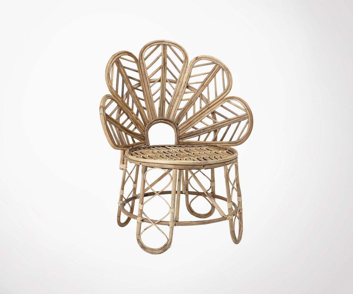 Chaise Cannage Fleurs Bloomingville Design Elegant Et Boheme