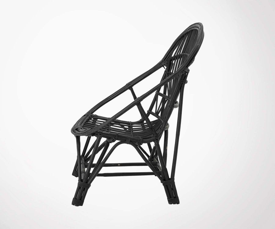 Chaise lounge cannage JOLINE - Bloomingville