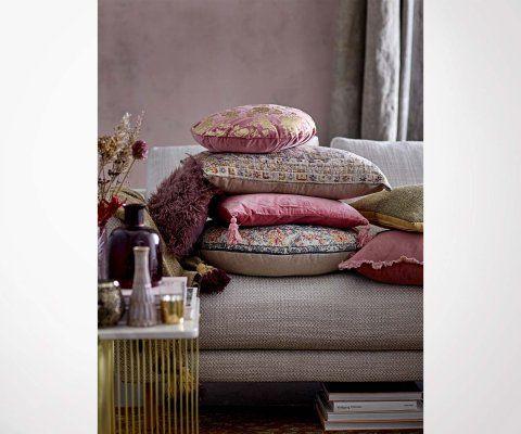 Table d'appoint marbre métal doré ELLIS - Bloomingville