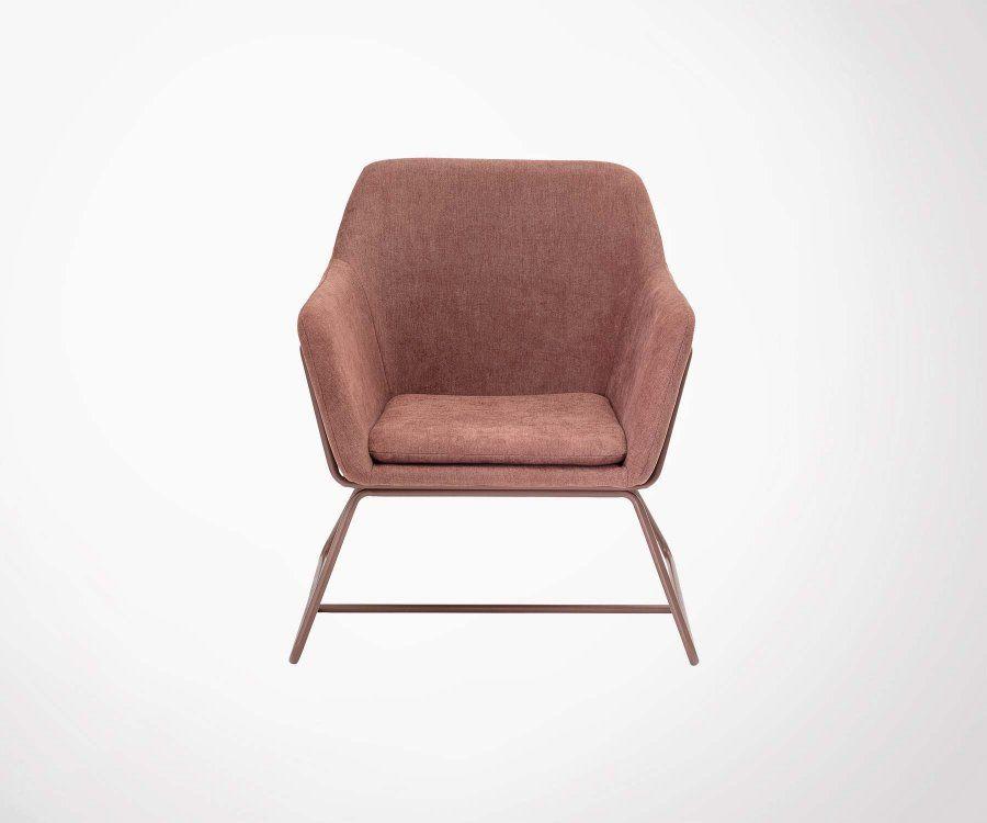 Fauteuil lounge vintage BASS - Bloomingville