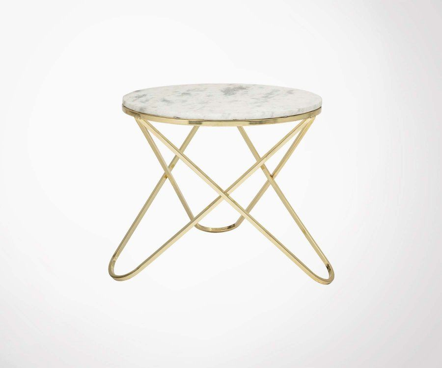 Petite table basse ronde 57cm NUEVO - Bloomingville