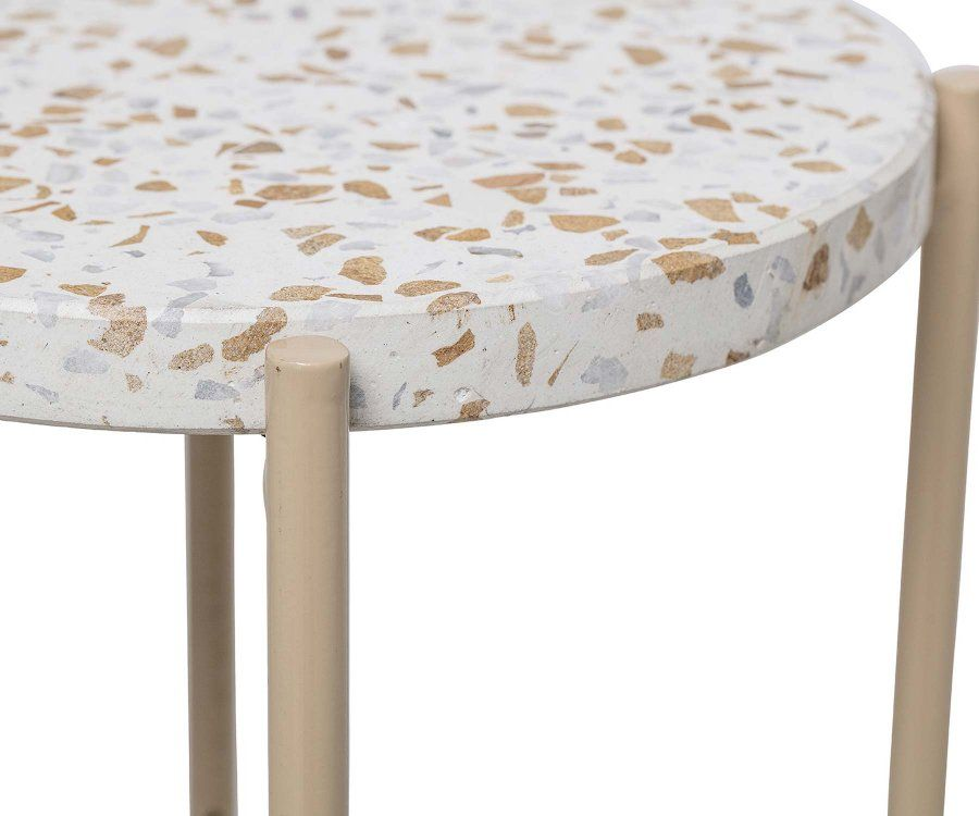 Table d'appoint terrazzo MARS - Bloomingville