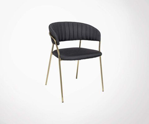 Lot 2 chaises design rétro FORM - Bloomingville
