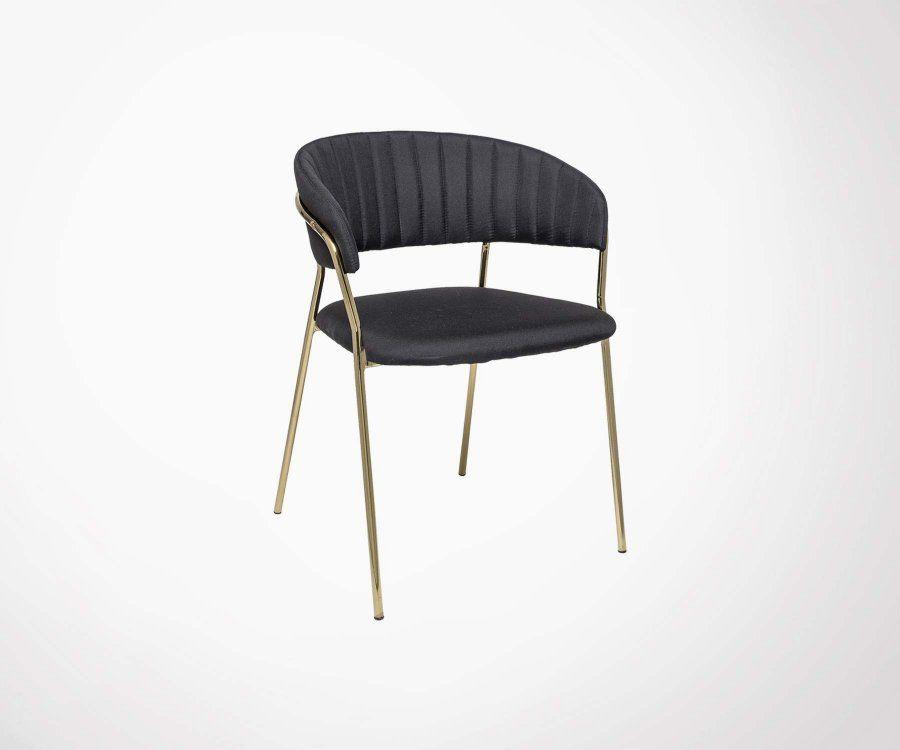 Lot 2 chaises design rétro FORM - Bloomingville