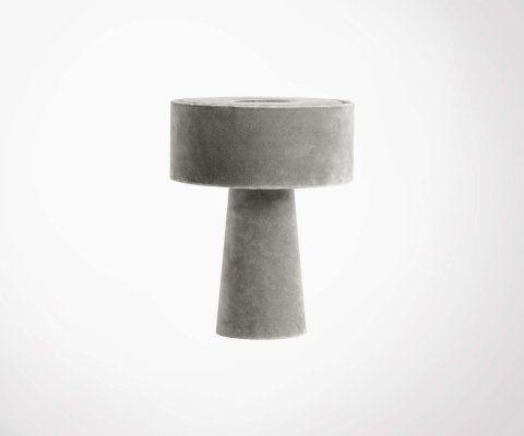 Lampe champignon velours MUSH - Nordal