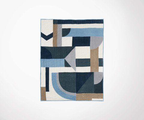 Tapis velours 170x130cm motifs géométrique ZICAPO - Nordal