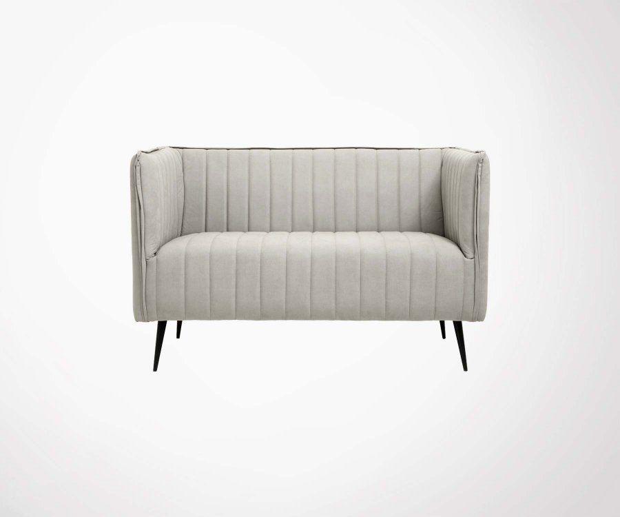 petit canap 2 places 126cm fakia nordal meubles et design. Black Bedroom Furniture Sets. Home Design Ideas