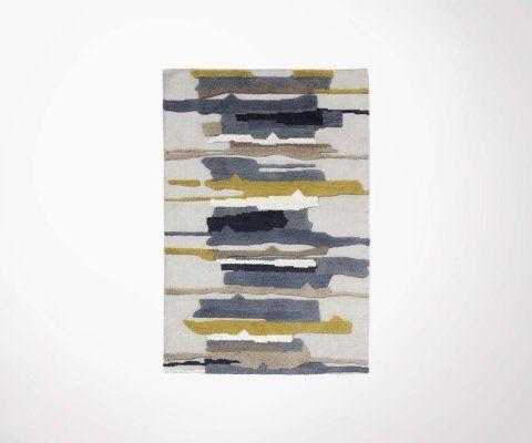 Tapis laine multicolor 120x180cm BEIGE - Nordal