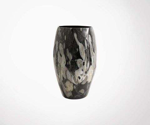 Grand vase design rétro 45cm WAVE - Nordal