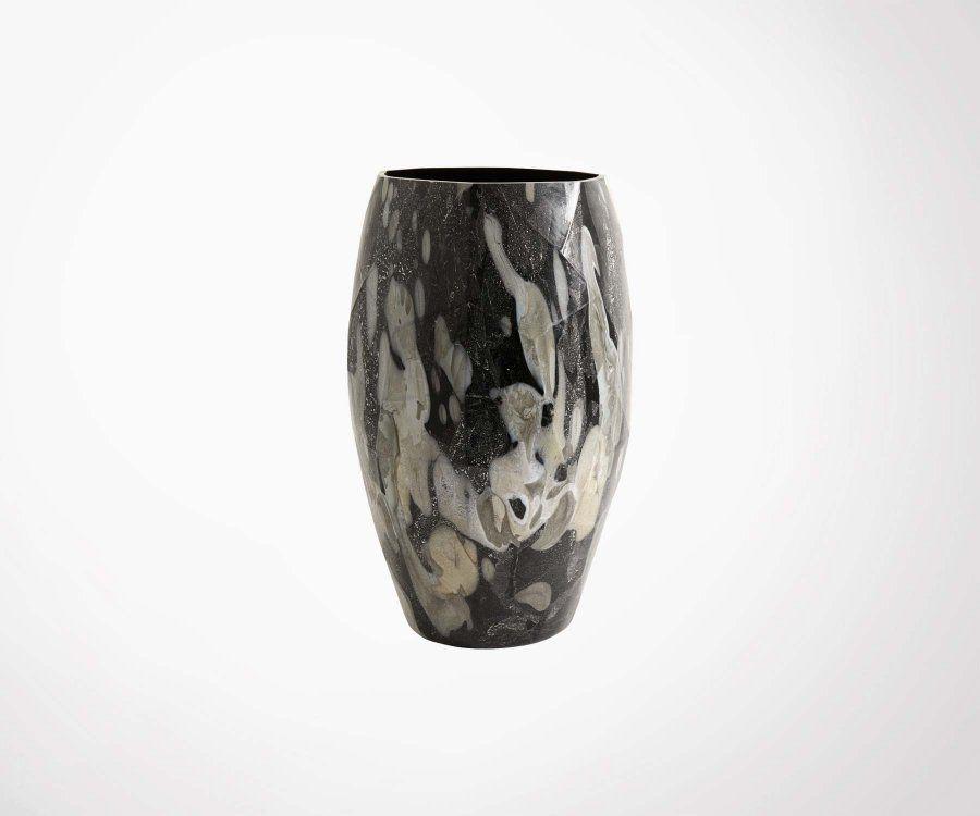 Grand vase design rétro 45cm WAVE - Nordal