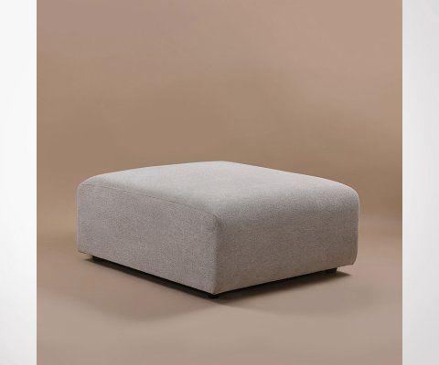 Section pouf tissu pour canapé JACQUES - HK Living