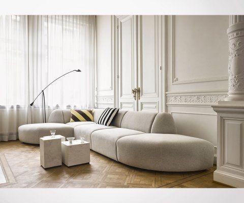 Section fauteuil pour canapé JACQUES - HK Living