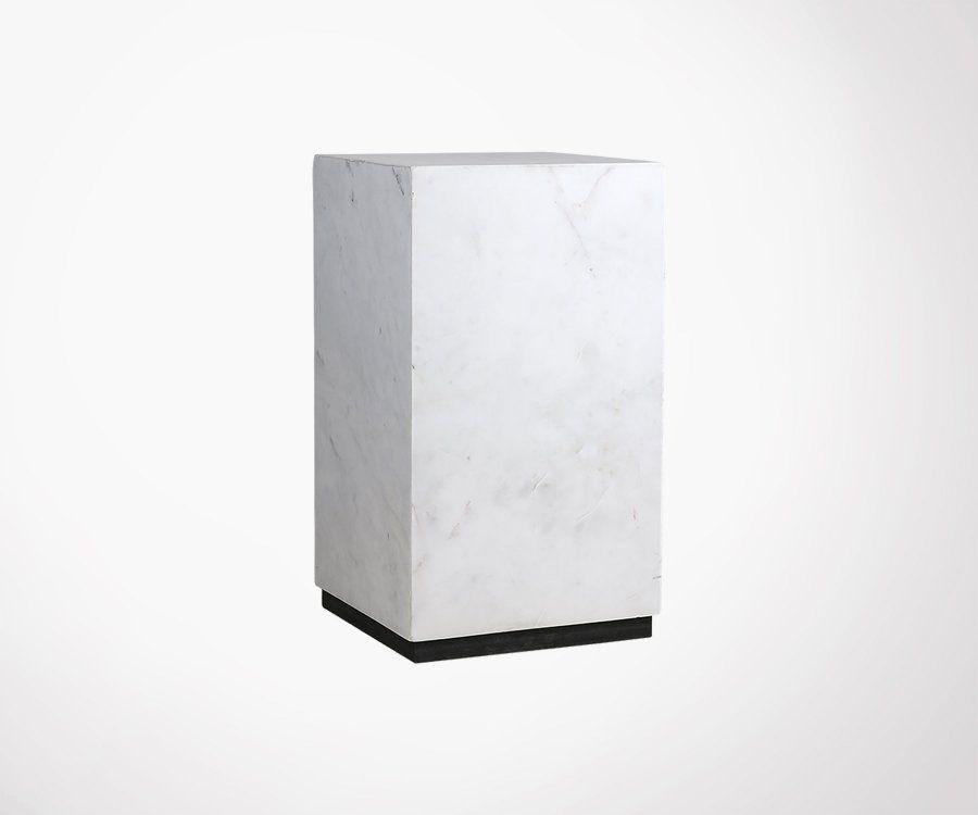 Petite table basse marbre 25x42cm STRUK - HK Living