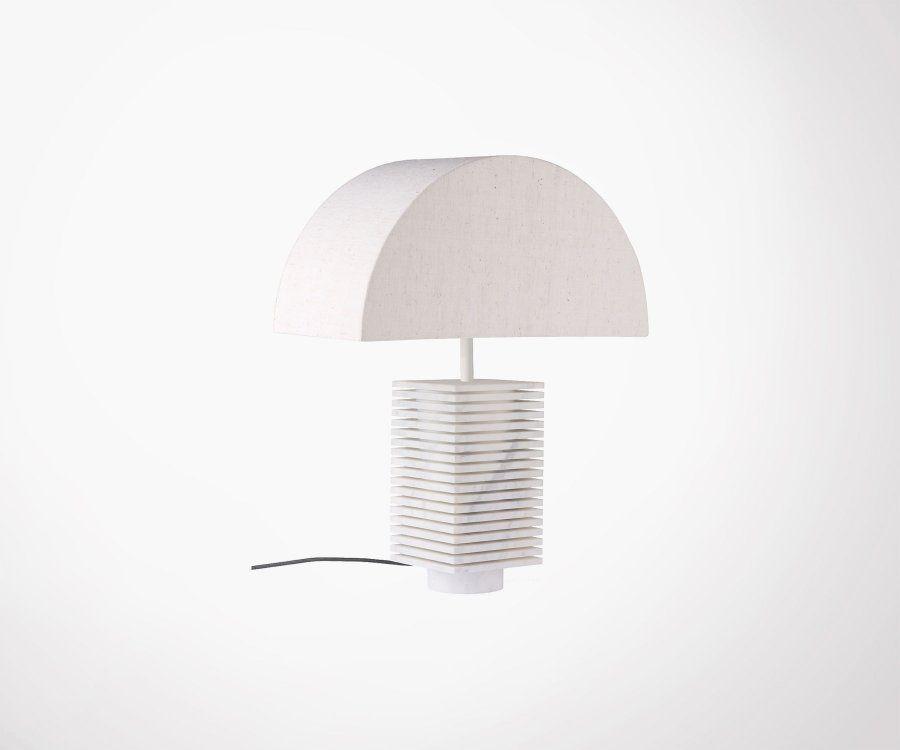 Lampe de table marbre style rétro DANDOP - HK Living