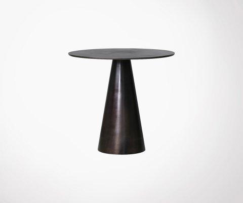 Table d'appoint métal vintage 60cm KOZAN - HK Living