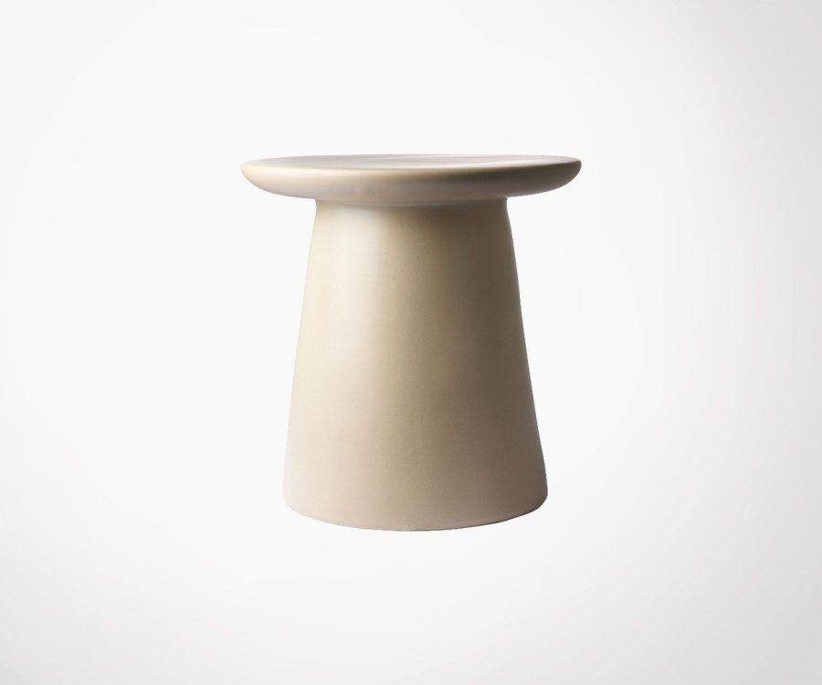 Table d'appoint faïence 40cm BROSLENO - HK Living