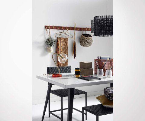 Lampe de table design style art déco CANDY - Nordal