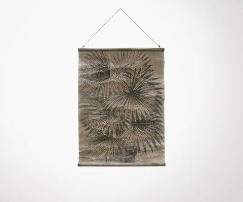 Tenture murale palmier vintage 60x83cm DEPAO - HK Living