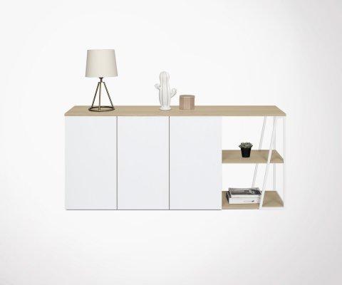 Enfilade design moderne bois métal ALBI - Temahome