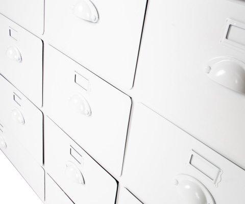 Armoire à archives 130cm métal RAGO - Vtwonen