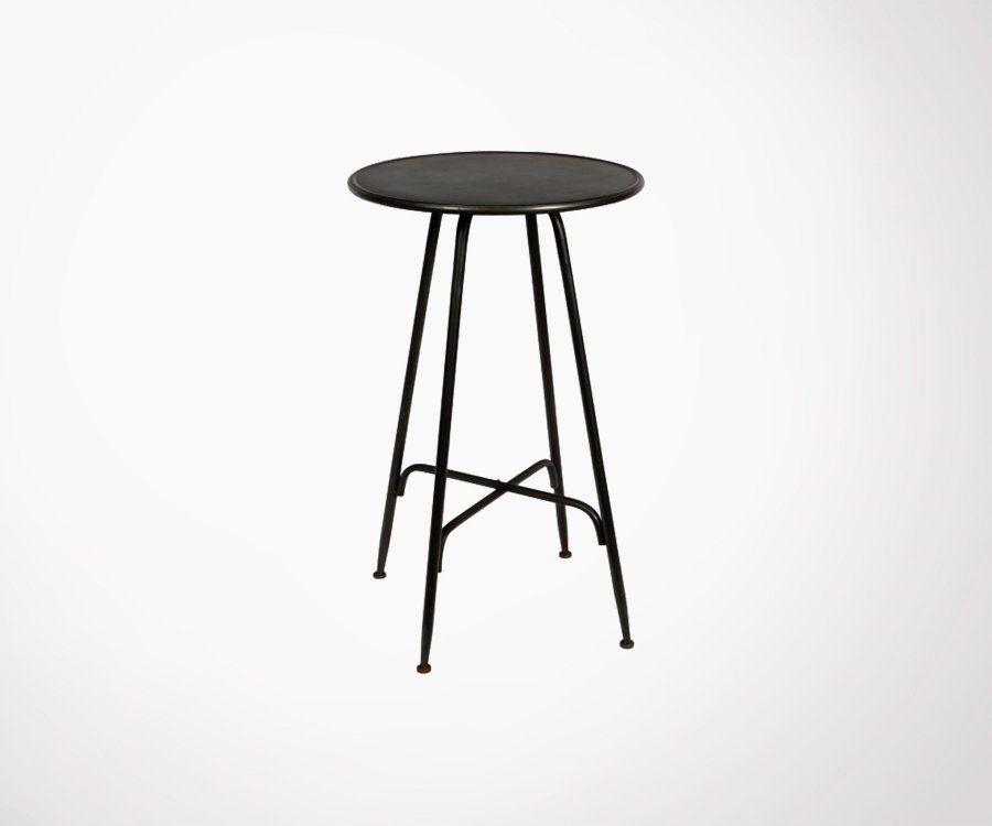 Table haute métal ATHENA - Red Cartel
