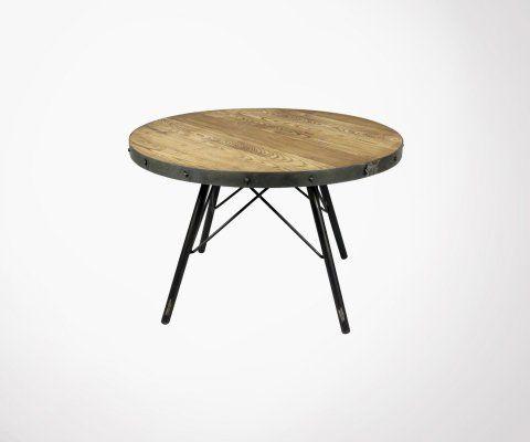 Table basse ronde ALEA - Red Cartel