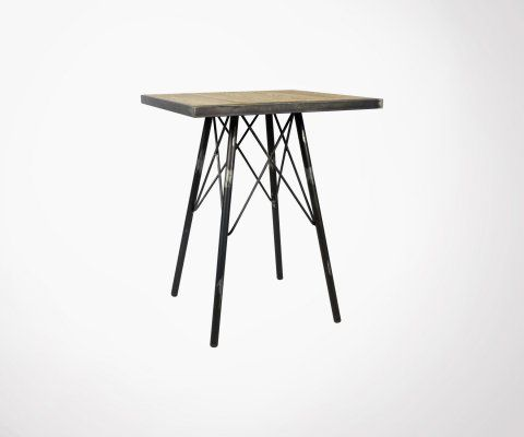 Table métal ALI - Red Cartel