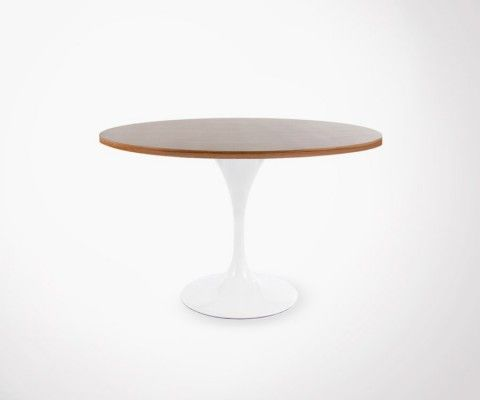 FOWER table 120cm - walnut top