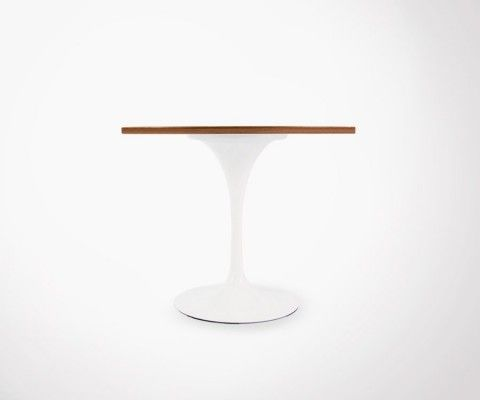 Table FLOWER noyer - 90cm