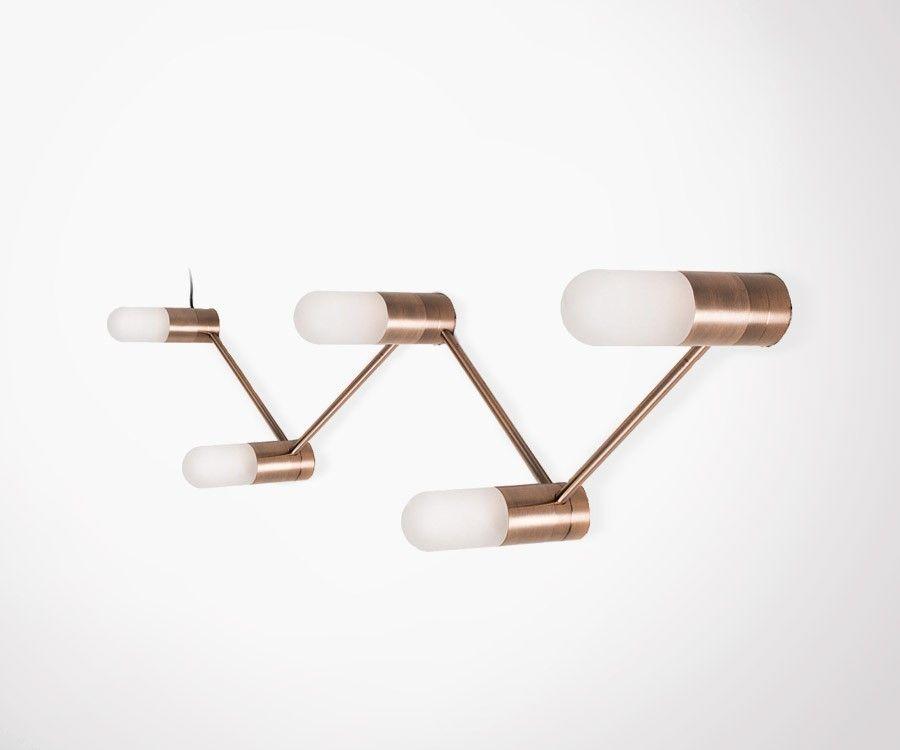 suspension ou lampe murale design avec ampoules. Black Bedroom Furniture Sets. Home Design Ideas