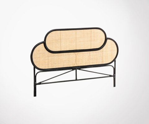 Tête de lit vintage en rotin 170cm MARGARET