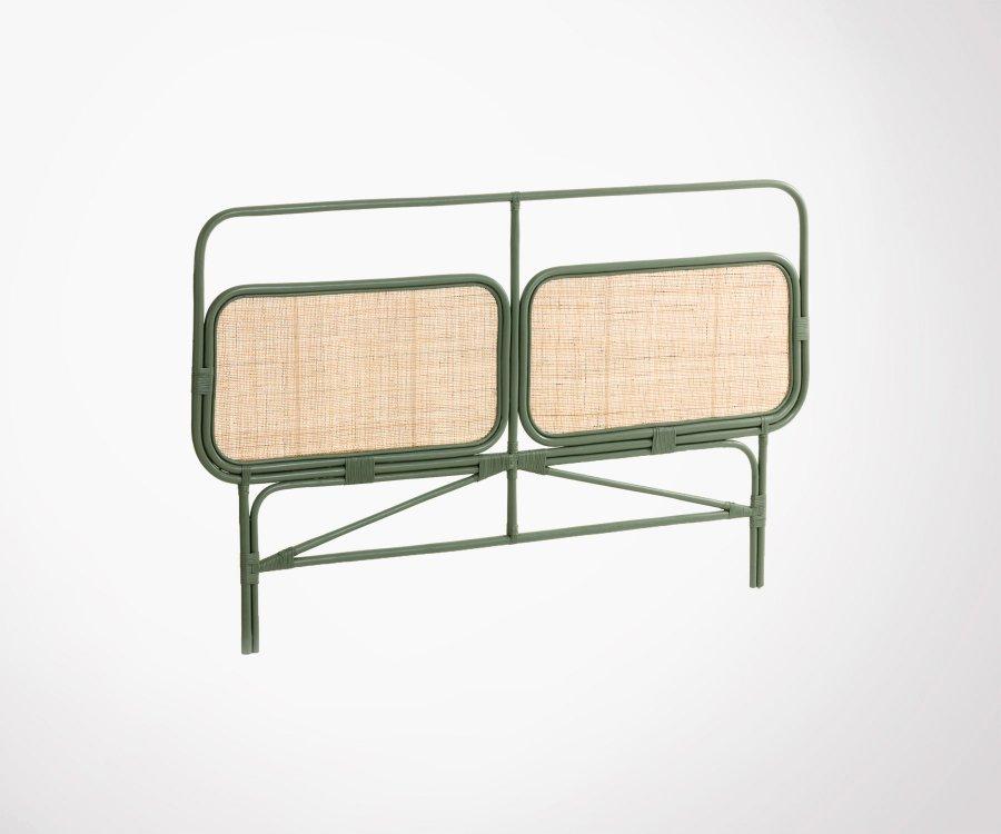 Tête de lit vintage rotin cannage 170cm NESTORMA