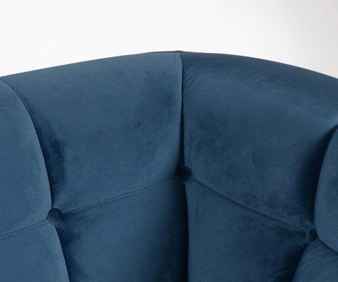 Canapé design 2 places velours TALA