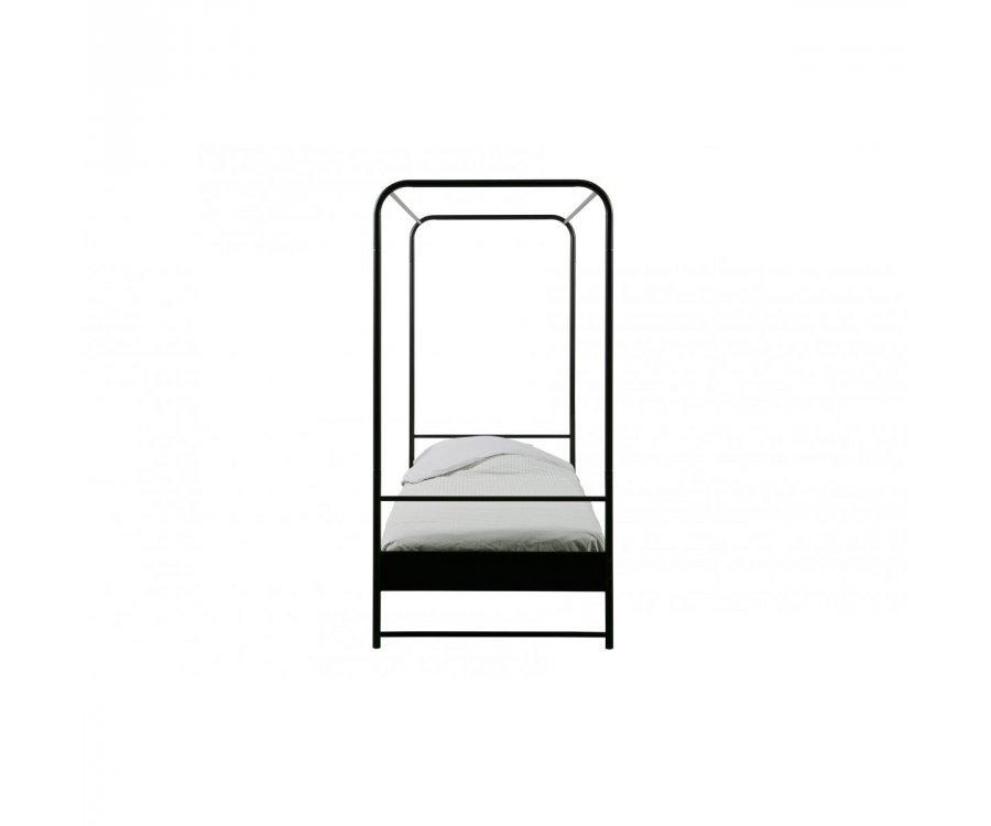 Lit 90x200 métal noir PHILBERT - Vtwonen DHK - 5