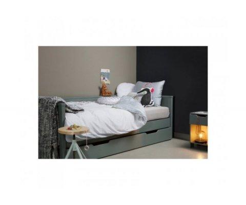 Canapé lit enfant en pin ARISTOPHANES - Woood DHK - 1