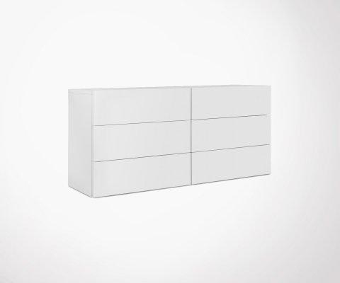 Commode 6 tiroirs MALLORCA - Temahome