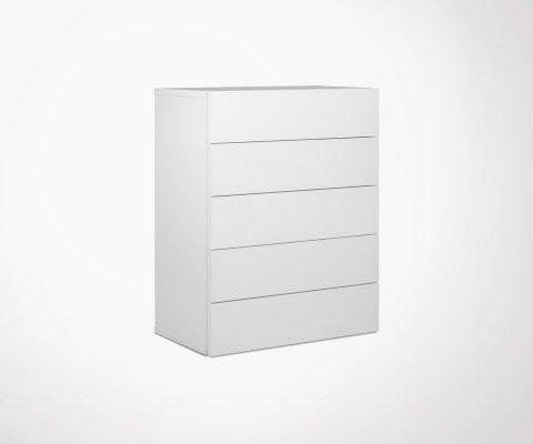 Commode 5 tiroirs MALLORCA - Temahome