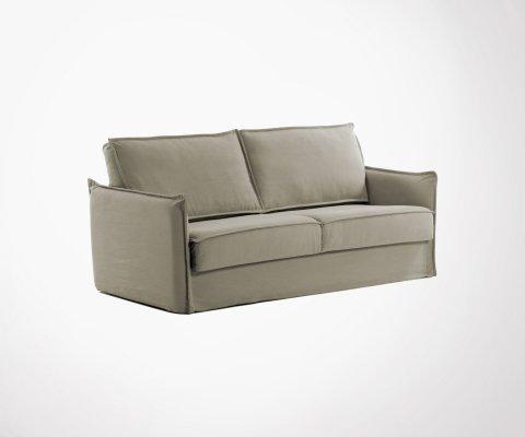 Canapé lit en tissu 2 personnes 140cm OLINDA